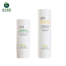100ml cosmetic packaging plastic tube with screw cap